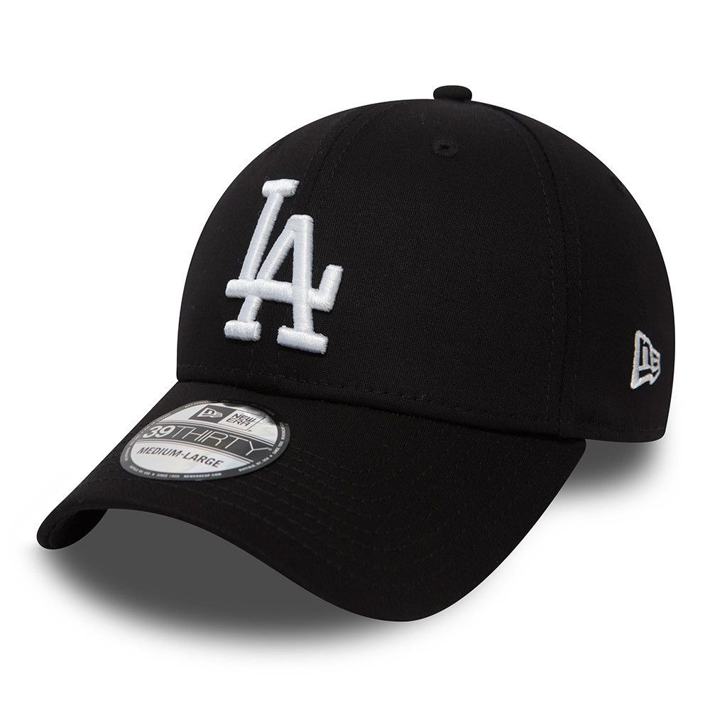 f529f61e5c49e new-era-39thirty-baseball-cap.mlb-la-dodgers-league-essential-black-stretch- hats-126574-p.jpg