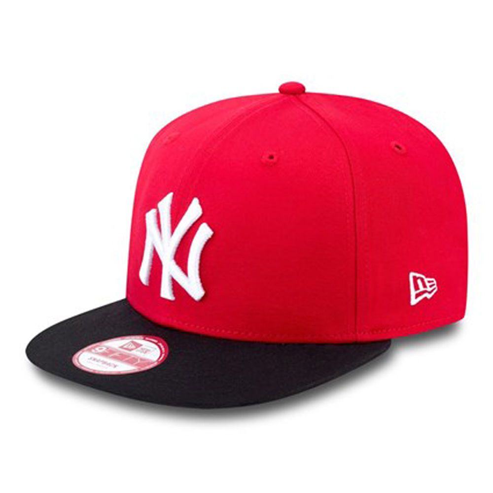 593f4cb5f3d new-era-mens-9fifty-baseball-cap.new-york-yankees-red-flat-peak-snapback-hat -530-111408-p.jpg