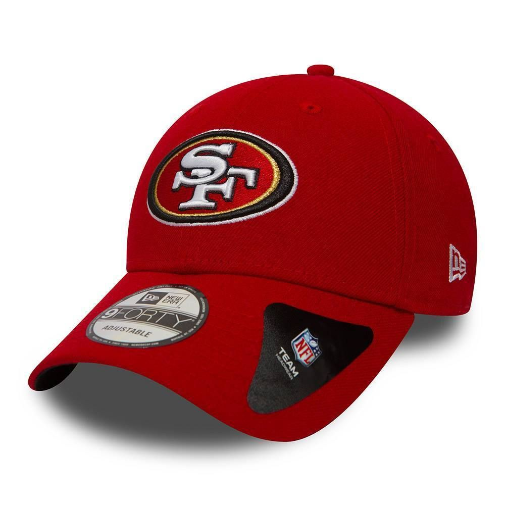on sale 27423 c2e81 new-era-san-francisco-49ers-baseball-cap.9forty-nfl-the-league-red-football- hat-126568-p.jpg