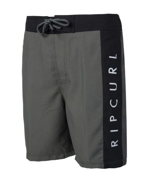 """RIP CURL MENS SHORTS.VOLLEY SIMPLICITY 21/"""" LINED BLACK BOARD BOARDIES 7S OE04 9"""